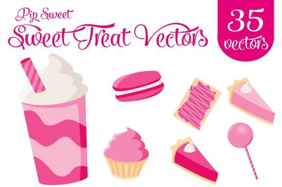 Sweet Treats Vector Kit