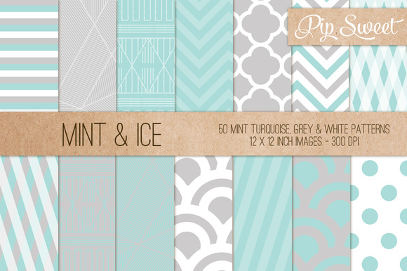 Mint Ice 50 Pattern Set