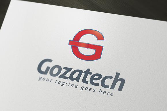 Gozatech Logo Template