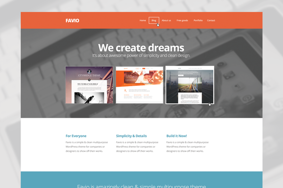 Favio Multipurpose Template