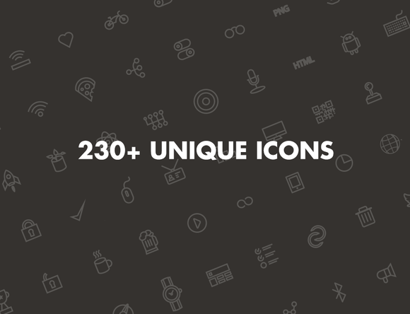 Othercircles Unique Icon Set