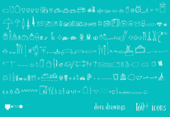Dora Lovely Hand Made Icons