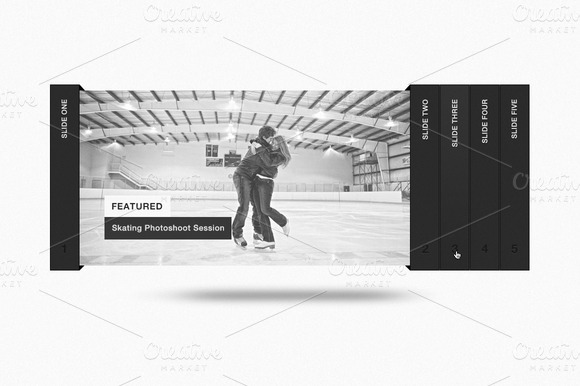 Modern Accordion Slider