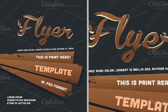 Flyer PSD Template