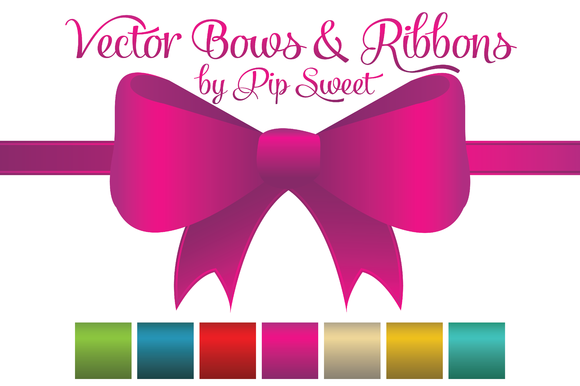 Vector Bows Ribbons