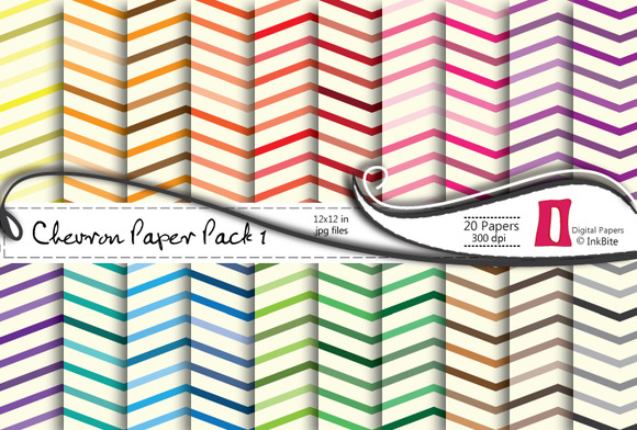 Chevron 1 Digital Paper Pack