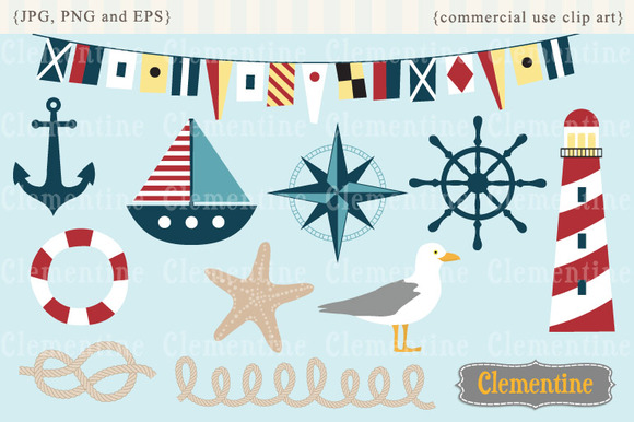 Nautical Clip Art And Vectors