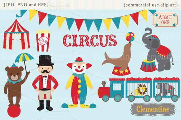 Circus Clip Art And Vectors