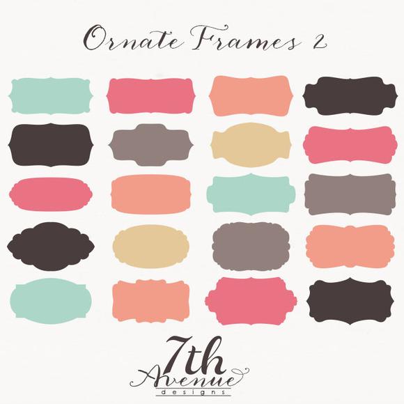 Ornate Frames 2