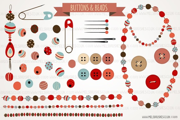 Buttons Beads