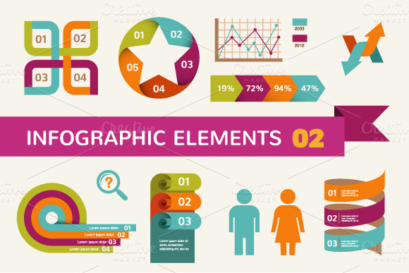 Infographic Elements Icons 2