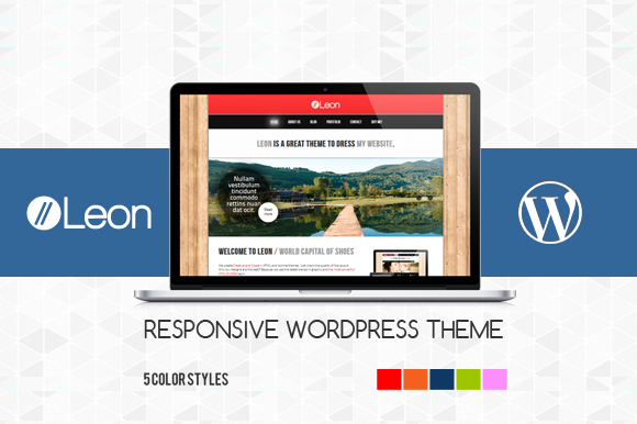 Leon Responsive WordPress Theme