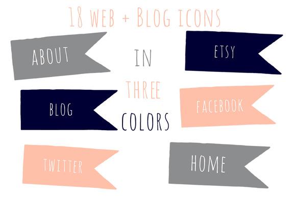 Flag Web Icons