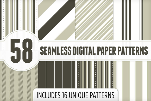 Seamless Digital Paper Patterns 2