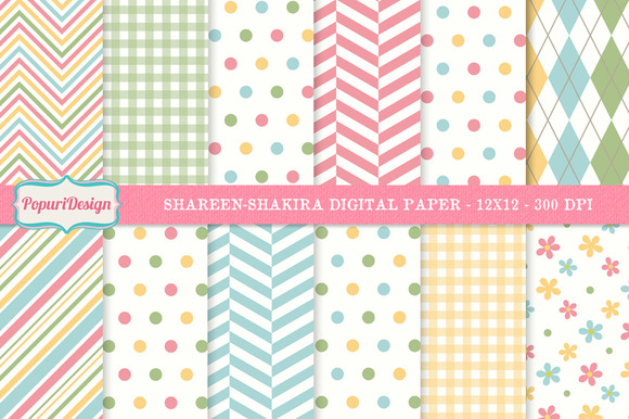 Shareen-Shakira Digital Paper