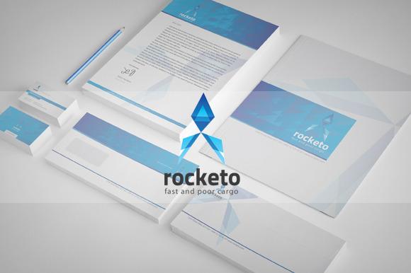 Rocketo Corporate Identity