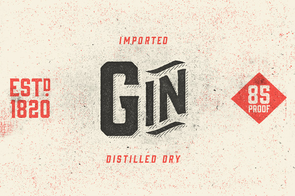 Gin Typeface