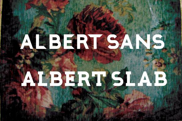 Albert Sans Slab