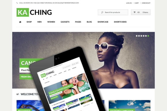 Kaching WooCommerce Theme