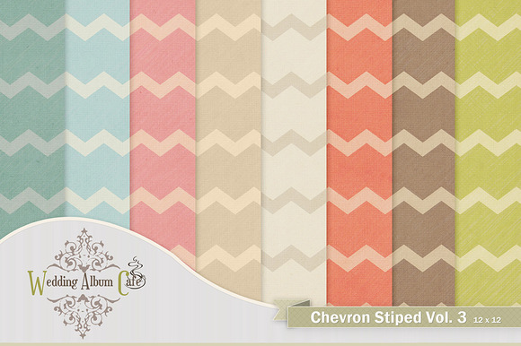 Chevon Striped Digital Backgrounds