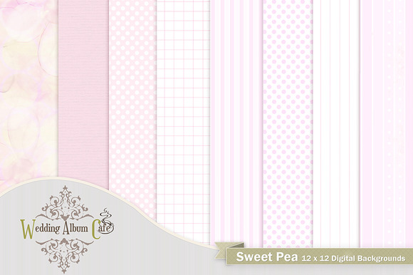 Sweet Pea Digital Papers