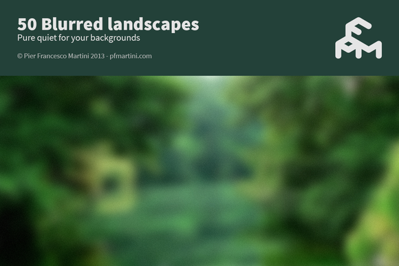 50 Blurred Landscapes