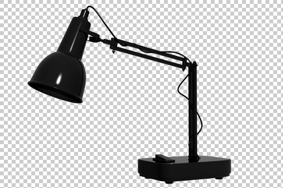 Study Lamp 3D Render PNG