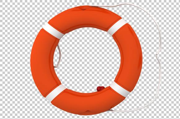 Lifebuoy 3D Render PNG