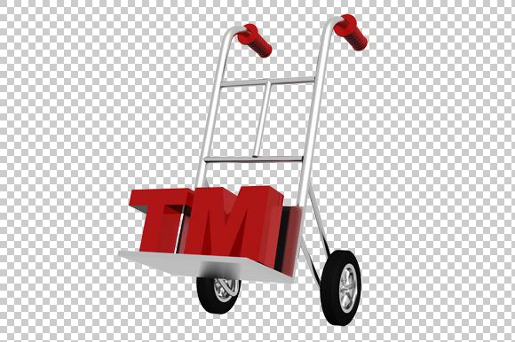 Trademark Concept 3D Render PNG
