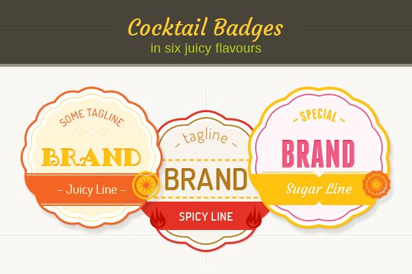 Cocktail Badges