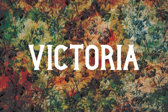 Victoria Typeface