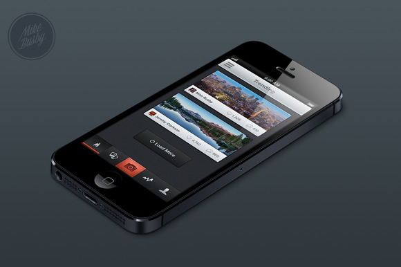 IPhone App Template No 1