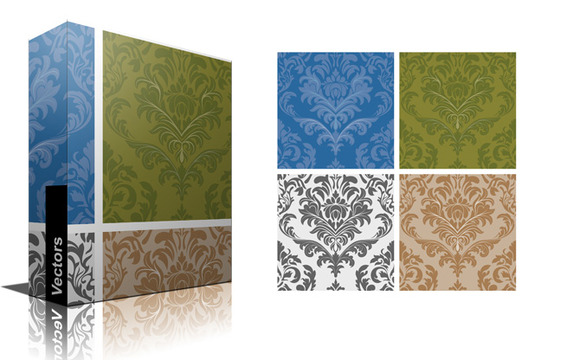 Seamless Damask