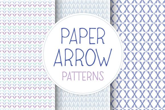 Paper Arrow Patterns