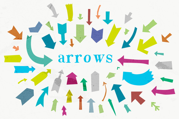 53 Vector Arrow Shapes