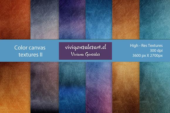 Color Canvas Textures II