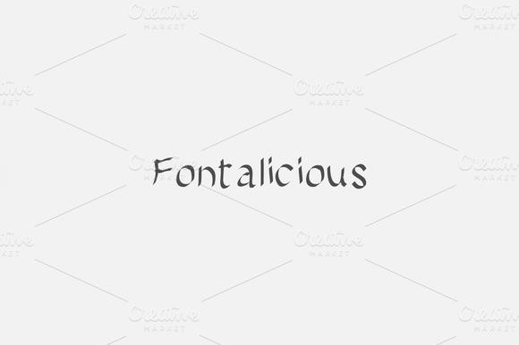 Fontalicious