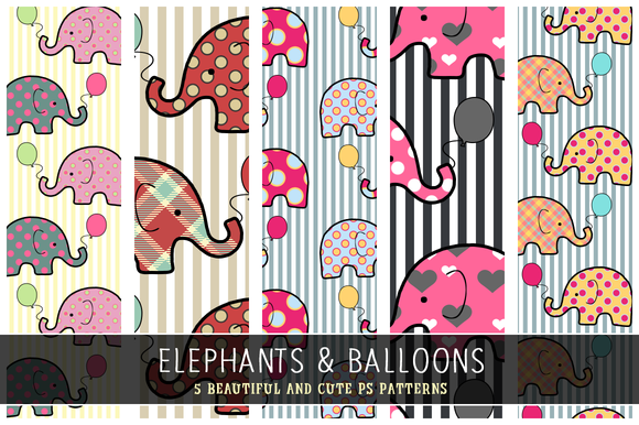 Elephants Balloons