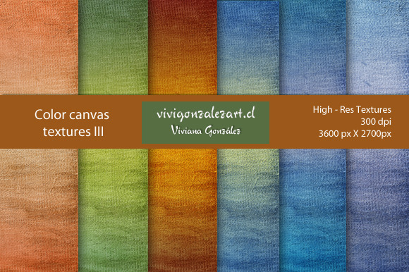 Color Canvas Textures III