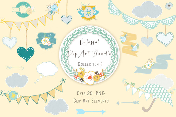 Clip Art Mega Bundle Deal 1