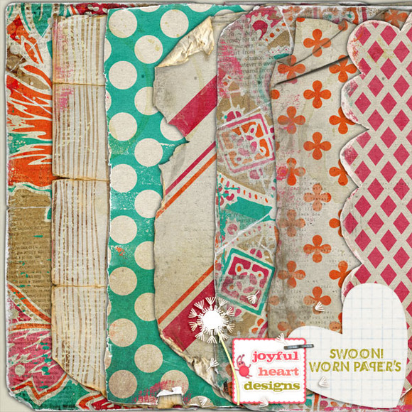 Swoon {worn Papers}