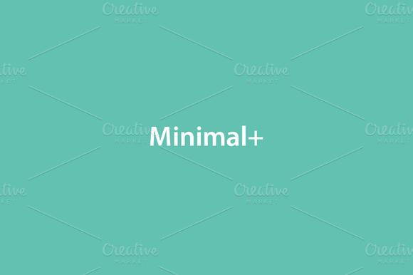 Discount Minimal 4 PSD Templates