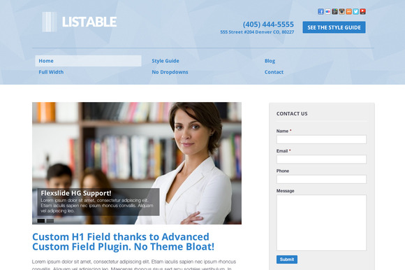 Listable Business WordPress Theme