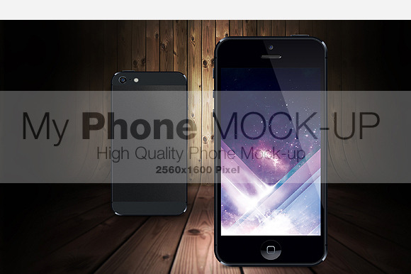 My Phone Realistic Mock-Up
