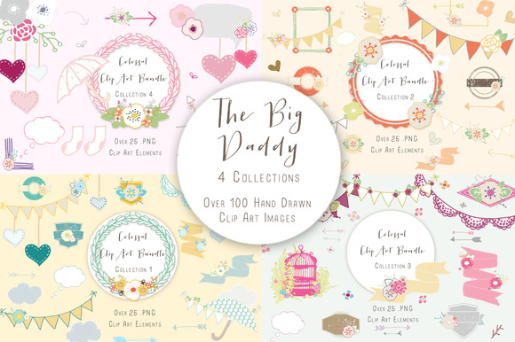 The Big Daddy Huge Clip Art Deal