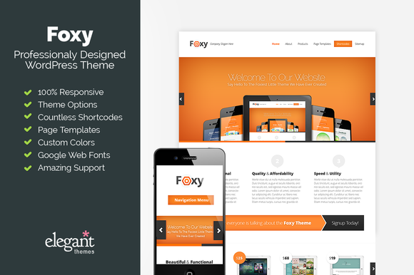 Foxy Responsive Business Theme