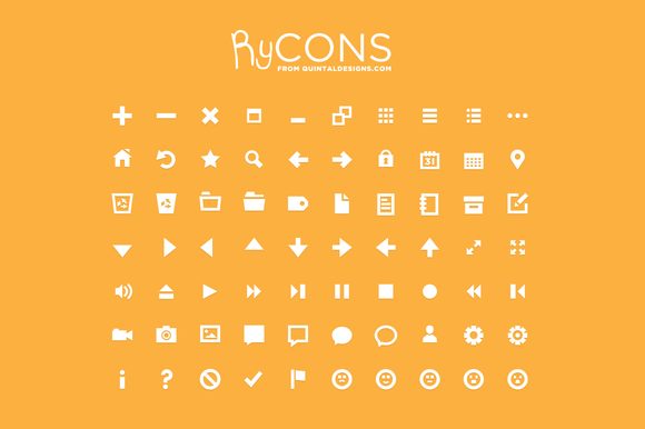 Rycons Grid Designed Flat Icons