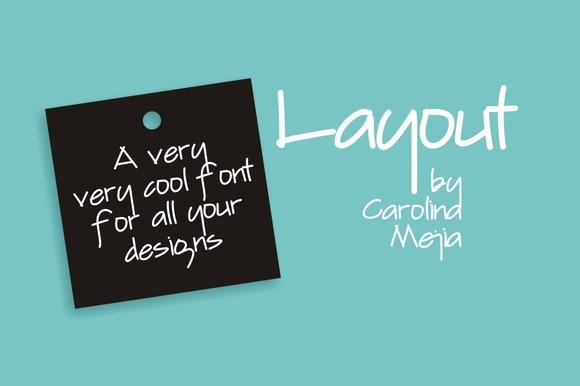 Layout Font