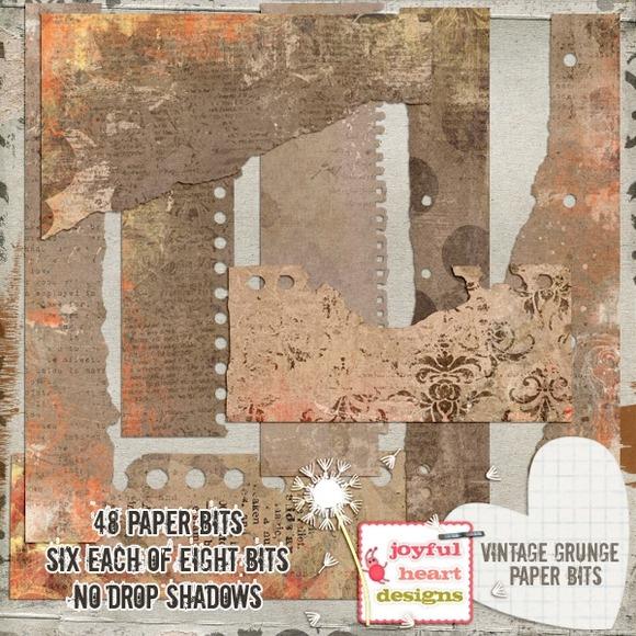 Vintage Grunge {paper Bits}
