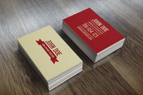 Company Personal Business Card PSD